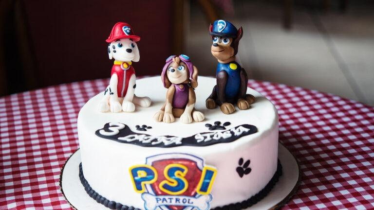 Organizujesz urodziny dla dziecka? Tort z Psim Patrolem to strzał w dziesiątkę
